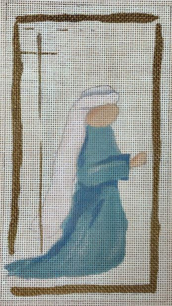 click here to view larger image of Nativity Mary (hand painted canvases)