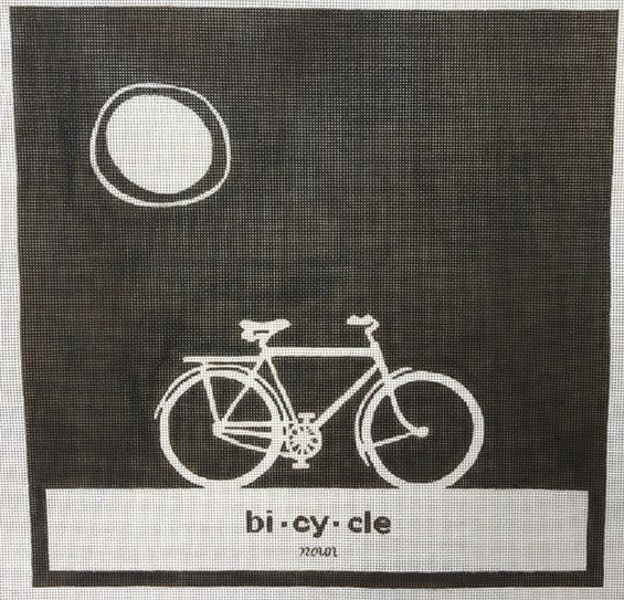 click here to view larger image of Bicycle (hand painted canvases)