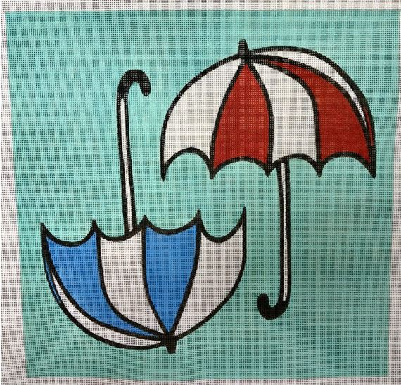 click here to view larger image of Umbrellas (hand painted canvases)