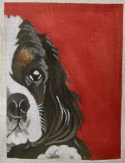 click here to view larger image of Cavalier King Charles - Red (hand painted canvases)