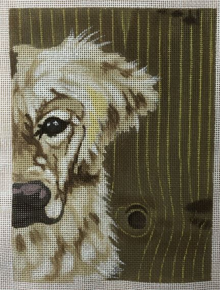 click here to view larger image of Golden Lab (hand painted canvases)