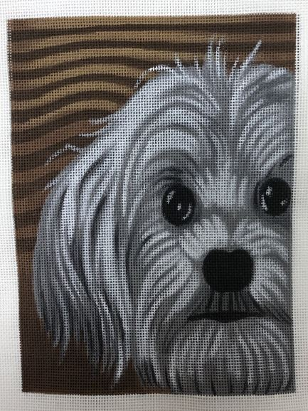 click here to view larger image of Maltese (hand painted canvases)