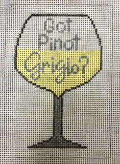 click here to view larger image of Got Pinot Grigio ? (hand painted canvases)