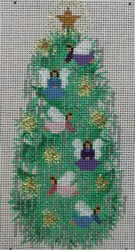 click here to view larger image of Angel Tree (hand painted canvases)