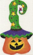 click here to view larger image of Pumpkin 5 (hand painted canvases)