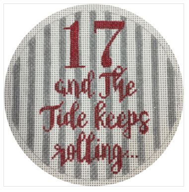 click here to view larger image of 17 and the Tide Keeps Rolling ! (hand painted canvases)