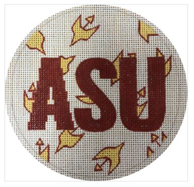 click here to view larger image of ASU (hand painted canvases)