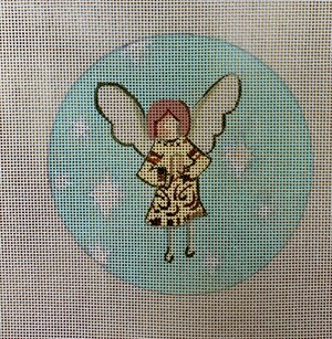 click here to view larger image of Angel in Gold (hand painted canvases)
