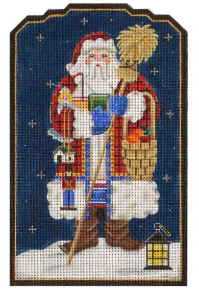 click here to view larger image of Swedish Santa (hand painted canvases)