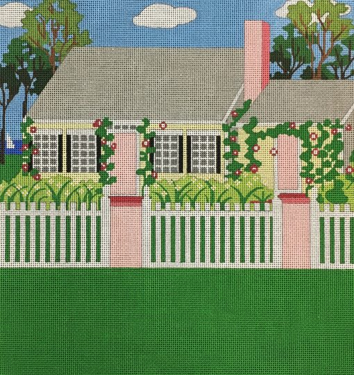 click here to view larger image of Cape Cod Cottage (hand painted canvases)