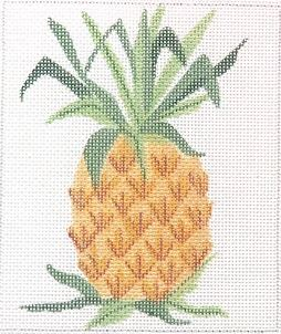 click here to view larger image of Pineapple (hand painted canvases 2)