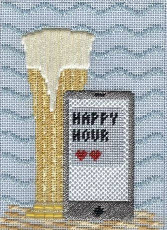 click here to view larger image of Beer Drink (hand painted canvases)