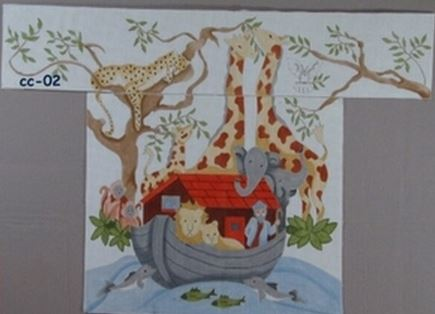 click here to view larger image of Noahs Ark  (hand painted canvases)
