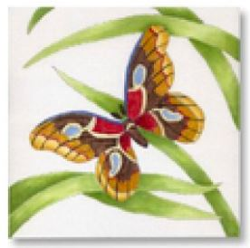 click here to view larger image of Butterfly III  (hand painted canvases)