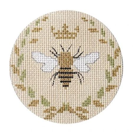click here to view larger image of Bee - Beige  (hand painted canvases)