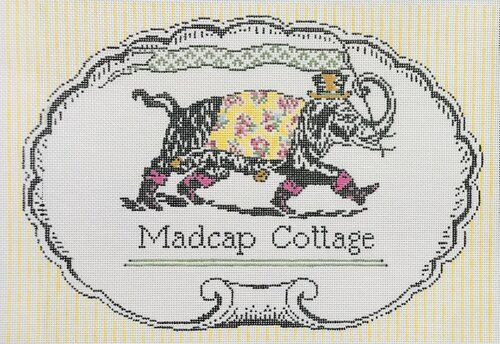 click here to view larger image of Something Madcap this Way Comes (hand painted canvases)