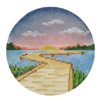 click here to view larger image of Boardwalk (hand painted canvases)