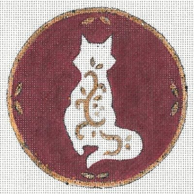 click here to view larger image of Fox Ornament  (hand painted canvases)