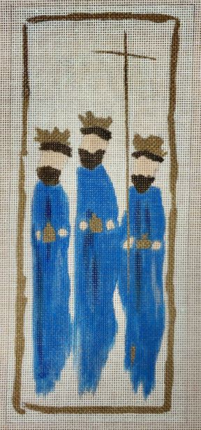 Nativity Three Wise Men/Kings hand painted canvases