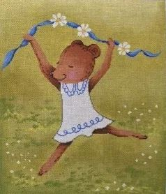 click here to view larger image of Dancing Little Bear (hand painted canvases)