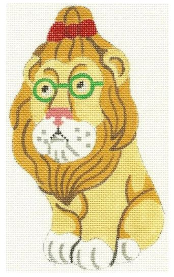 click here to view larger image of Cowardly Lion (hand painted canvases)