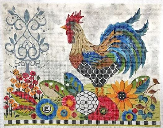 click here to view larger image of Provence Rooster Embellishment Kit (accessories)