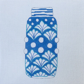 click here to view larger image of Ginger Jar Shells (hand painted canvases)