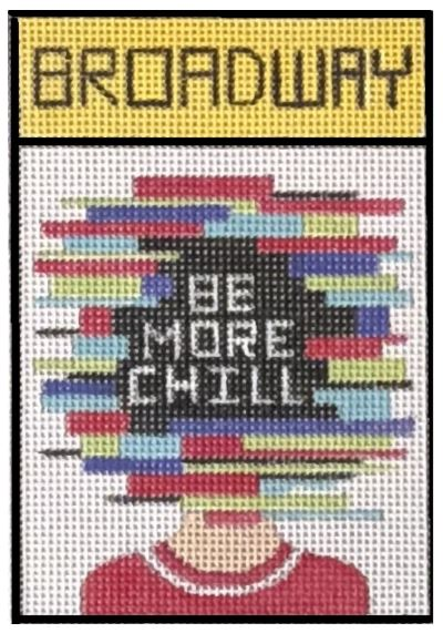 click here to view larger image of Broadway - Be More Chill (hand painted canvases)