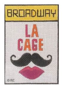 click here to view larger image of Broadway - La Cage Aux Folles (hand painted canvases)