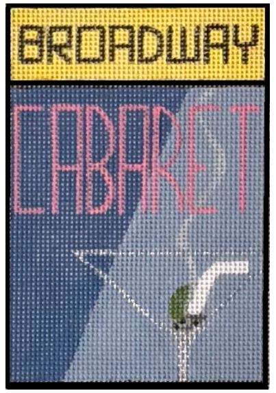 click here to view larger image of Broadway - Cabaret (hand painted canvases)