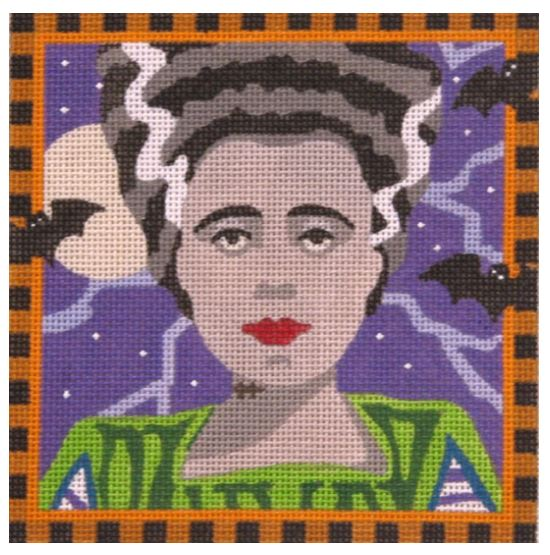 click here to view larger image of Bride of Frankenstein (hand painted canvases)