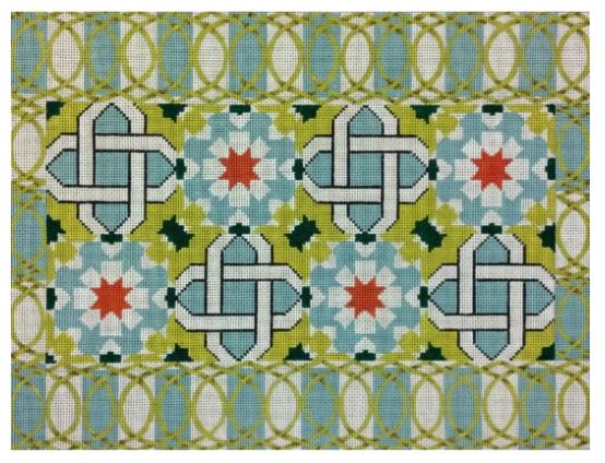 click here to view larger image of Azulejos (hand painted canvases)