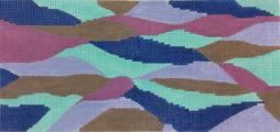 click here to view larger image of Blue Waves (hand painted canvases)
