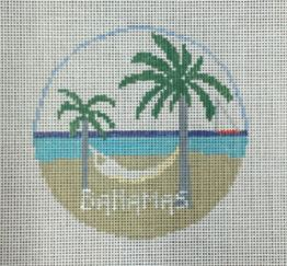 click here to view larger image of Bahamas (hand painted canvases)
