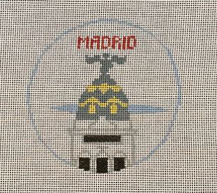 click here to view larger image of Madrid (hand painted canvases)