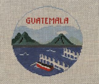 click here to view larger image of Guatemala (hand painted canvases)
