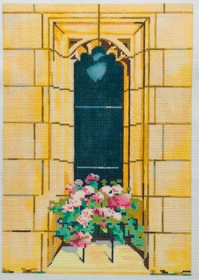 click here to view larger image of Catherines Window (hand painted canvases)