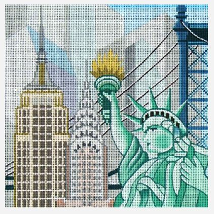 click here to view larger image of NYC (hand painted canvases)