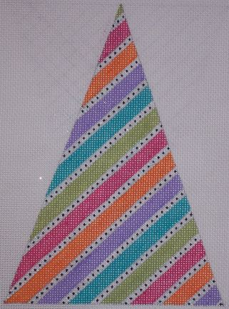 click here to view larger image of Candy Stripe Tree (hand painted canvases)