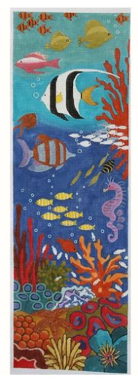 click here to view larger image of Coral Reef (hand painted canvases)