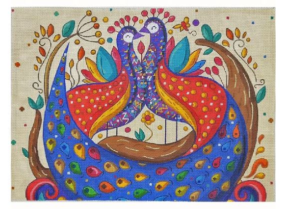 click here to view larger image of Mexican Folk Art - Wedding Celebration (hand painted canvases)