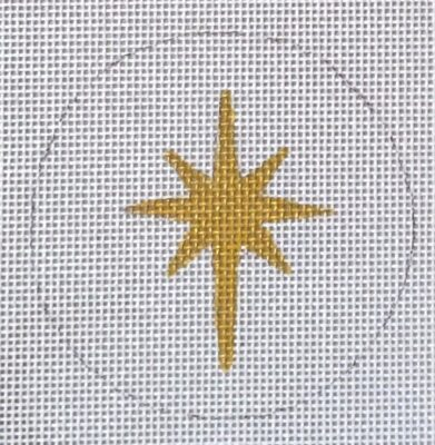 click here to view larger image of Nativity Star (hand painted canvases)