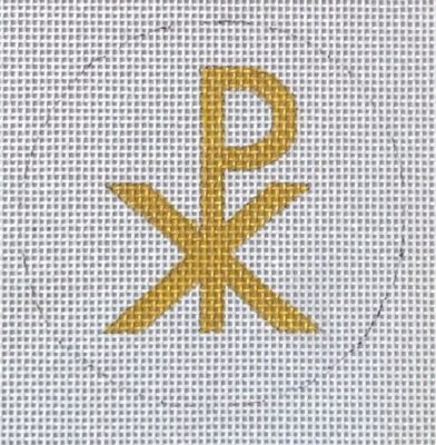 click here to view larger image of Chi-Rho (hand painted canvases)