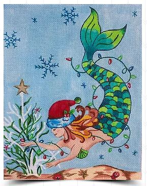Christmas Mermaid - click here for more details