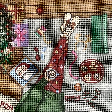 Happy Stitching - Christmas Morning - click here for more details