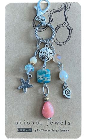 click here to view larger image of Scissor Jewel - Seaside (accessories)