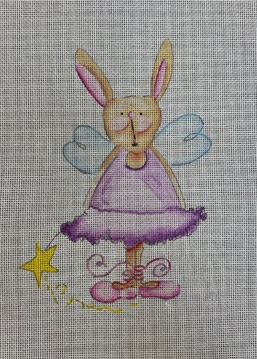 click here to view larger image of Rabbit Fairy (hand painted canvases)