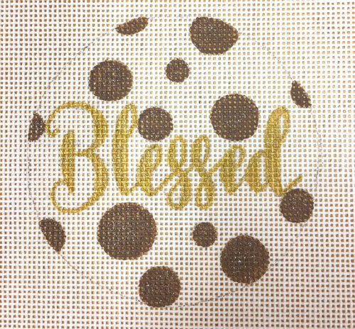 click here to view larger image of Blessed (hand painted canvases)