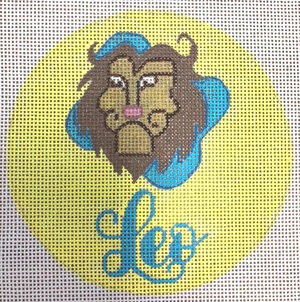 click here to view larger image of Leo (hand painted canvases)
