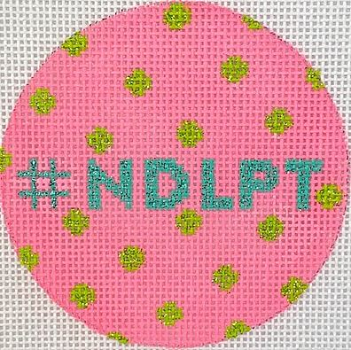 click here to view larger image of # NDLPT - Hot Pink (hand painted canvases 2)